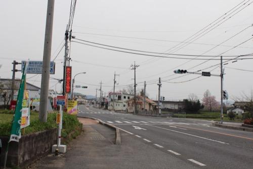 0087:奈義町現代美術館 バス停付近