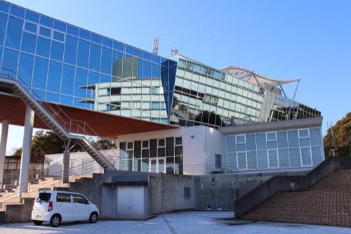 0090:高知県立坂本龍馬記念館 東外観④