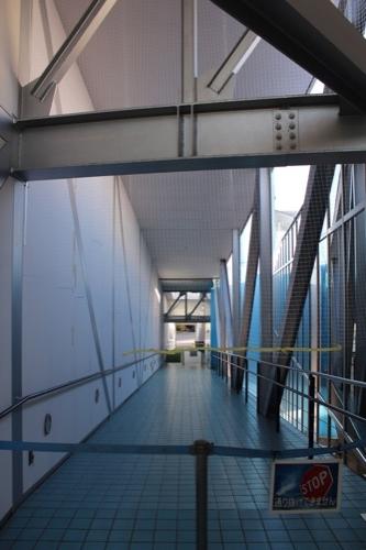 0090:高知県立坂本龍馬記念館 立ち入り禁止となったスロープ