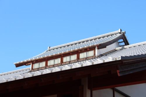 0091:稱名寺本堂 トップライト
