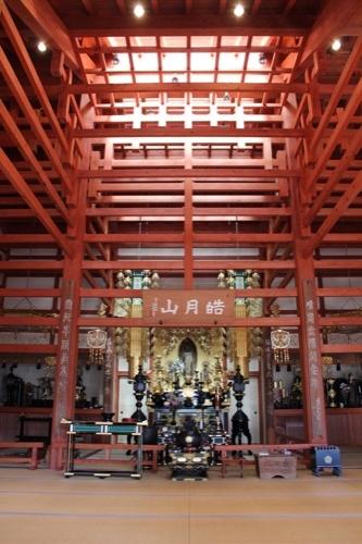 0091:稱名寺本堂 内観全景
