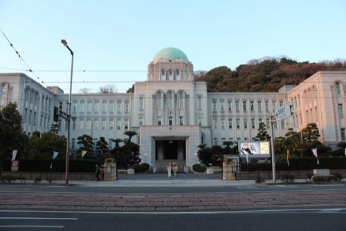 0094:愛媛県庁舎 正面から