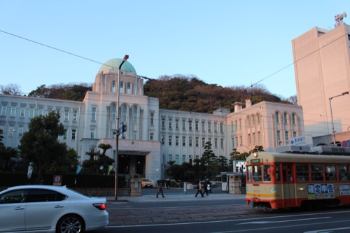 0094:愛媛県庁舎 伊予鉄と県庁