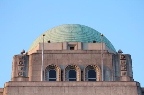 0094:愛媛県庁舎 屋根拡大