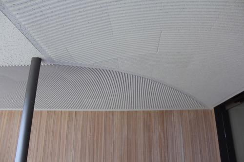 0096:伊丹十三記念館 回廊の天井