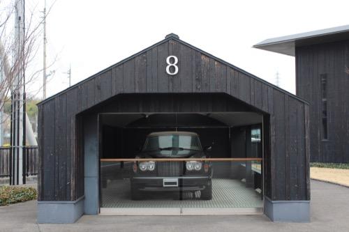 0096:伊丹十三記念館 ベントレーが収められたガレージ