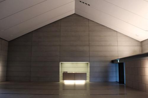 0098:佐川美術館 エントランスホール