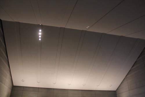 0098:佐川美術館 エントランスの天井デザイン