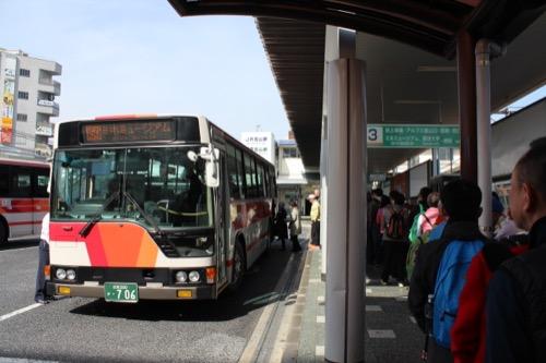 0099:MIHOMUSEUM 石山駅バス停から