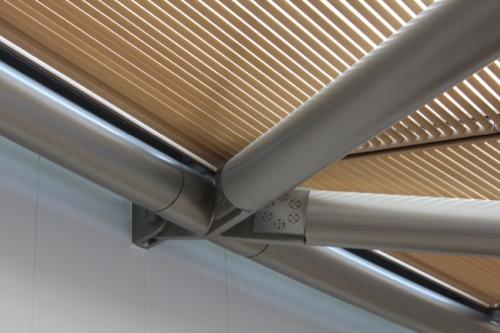 0099:MIHOMUSEUM レセプション棟の屋根ティティール