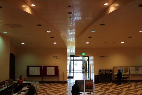 0104:大阪市立美術館 地下展示室のエントランス