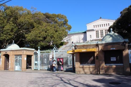 0104:大阪市立美術館 正門ゲート