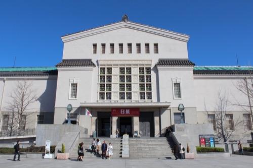 0104:大阪市立美術館 本館を正面から