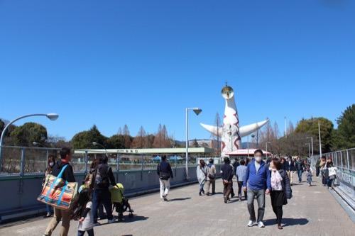 0107:EXPO'70パビリオン 万博公園への歩道橋