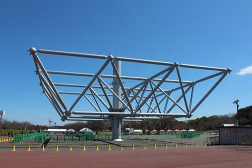 0107:EXPO'70パビリオン 一部保存された大屋根