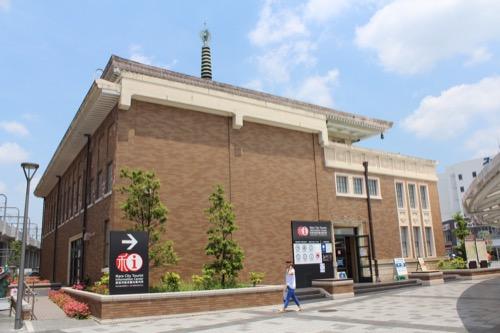 0109:奈良市総合観光案内所 南側の外観