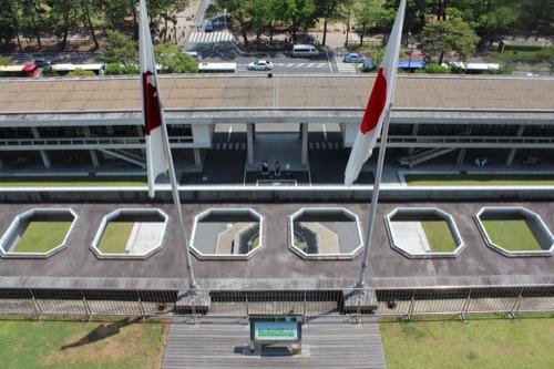 0110:奈良県庁舎 展望スペースからの眺め①