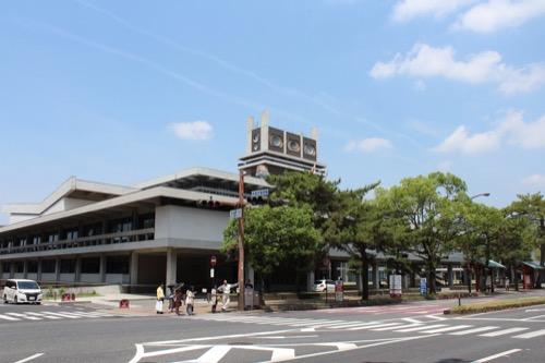 0110:奈良県庁舎 メインストリートからの眺め