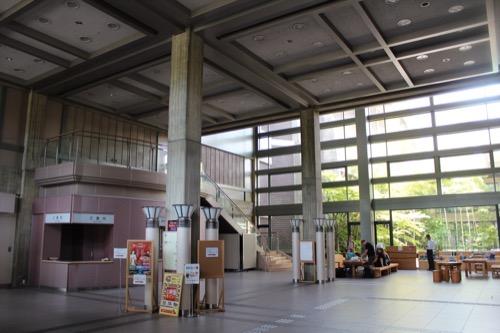 0111:奈良県文化会館 中央エントランス①