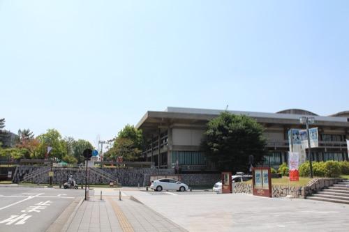 0111:奈良県文化会館 東側外観①