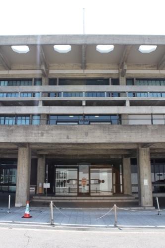 0111:奈良県文化会館 東側入口