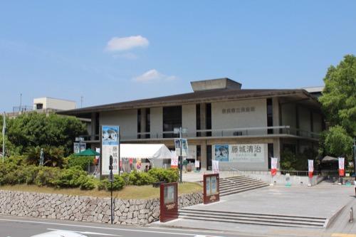 0112:奈良県立美術館 正面ファサード①