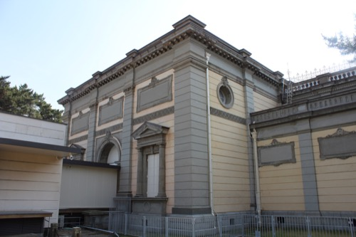 0113:奈良国立博物館 旧本館正面②