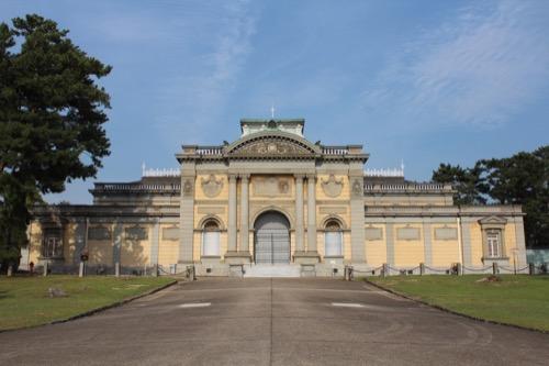 0113:奈良国立博物館 旧本館裏面②