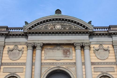0113:奈良国立博物館 旧本館裏面③