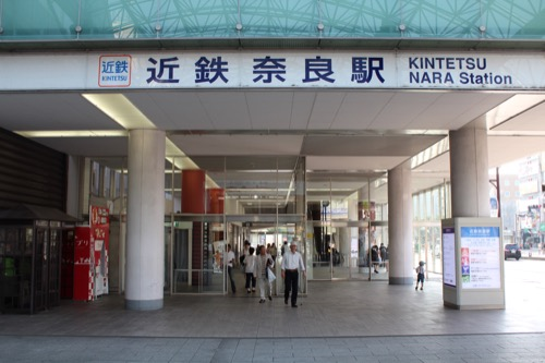 0115:奈良近鉄ビル 東側入口①