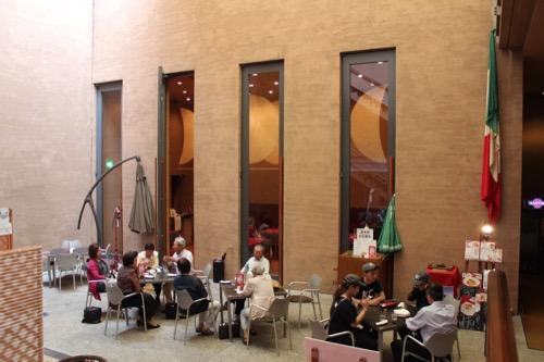 0117:細見美術館 地下2階の館内カフェ