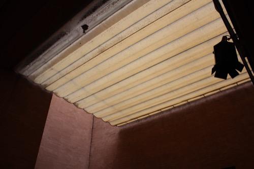 0117:細見美術館 カフェ上部のテント屋根