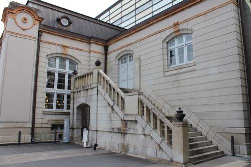 0118:京都府立図書館 側端部の階段