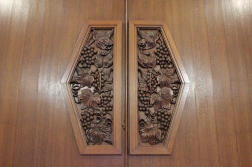 0119:京都市美術館 2階応接室の扉デザイン