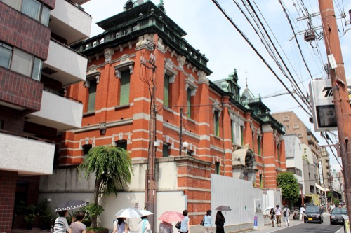 0120:京都文化博物館別館 三条通り西側から