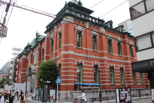 0120:京都文化博物館別館 南東側交差点から