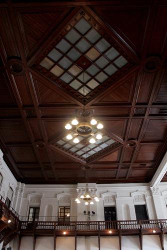 0120:京都文化博物館別館 別館ホール天井