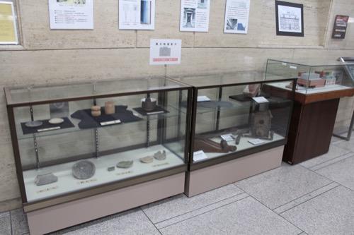 0121:中京郵便局 館内の展示物