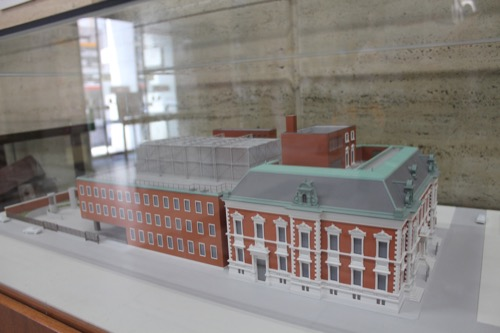 0121:中京郵便局 展示模型