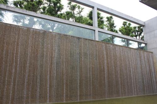0123:京都府立陶板名画の庭 庭園南側の大滝