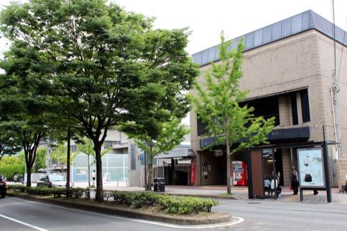 0123:京都府立陶板名画の庭 地下鉄出口から