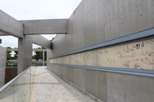 0123:京都府立陶板名画の庭 鳥獣戯画の陶板