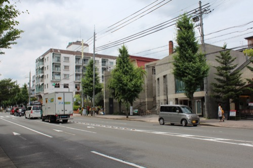0124:B-LOCK北山 北山通りから①