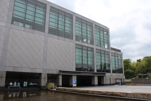0125:京都コンサートホール ホール玄関