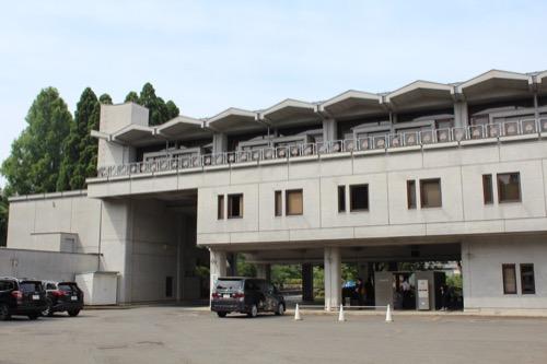 0126:国立京都国際会館 会議場棟 裏手の外観①