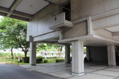 0126:国立京都国際会館 会議場棟 裏手の外観②