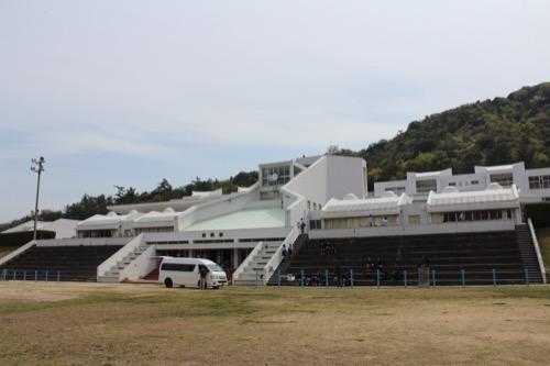 0128:直島小学校 外観全景