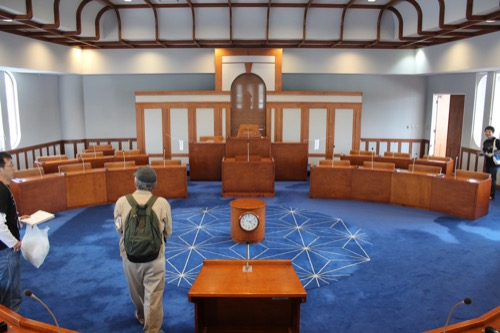 0130:直島町役場 議場②