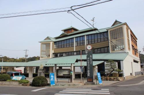 0130:直島町役場 正面外観全景