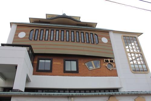 0130:直島町役場 東側外観デザイン